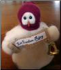 """Let Freedom Ring"" Wooly® Primitive Snowmen (SKU: 10501)"