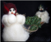 """Are You Helping?"" Wooly® Primitive Snowmen (SKU: 10190)"