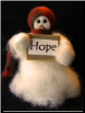 """Hope"" Wooly® Primitive Snowmen (SKU: 10481)"
