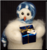 """For You"" Wooly® Primitive Snowmen"