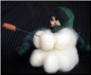 """Sizzling Dogs"" Wooly® Primitive Snowmen"