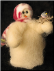 """Welcome Spring"" Wooly® Primitive Snowmen"