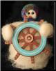 """Sail Away"" Wooly® Primitive Snowmen"