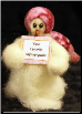 """Personalized"" Wooly® Primitive Snowmen Collection"