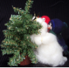 """Mini Higher Daddy"" Wooly® Primitive Snowmen (SKU: 10136)"