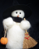 """Halloween Treats"" Wooly® Primitive Snowmen (SKU: 10373)"
