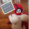 """In The Meadow"" Wooly® Primitive Snowmen"