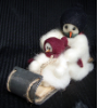 """Friends"" Wooly® Primitive Snowmen"