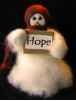 """Hope"" Wooly® Primitive Snowmen"