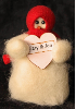 """Sweet Hearts"" Wooly® Primitive Snowmen Collection (SKU: 10490)"