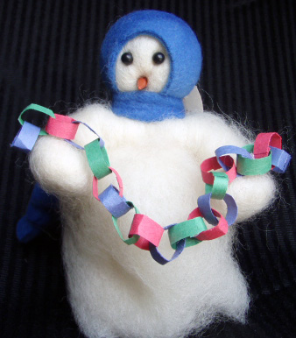 """Counting Down"" Wooly® Primitive Snowmen"