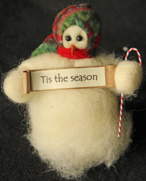 """Tis The Season"" Wooly® Primitive Snowmen"