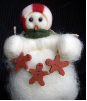 """Decorating Time"" Wooly® Primitive Snowmen (SKU: 10256)"