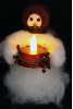 """Candle Light"" Wooly® Primitive Snowmen (SKU: 10476)"