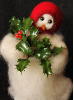 """Deck the Halls"" Wooly® Primitive Snowman (SKU: 10478)"