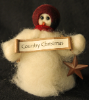 """Country Christmas"" Wooly® Primitive Snowmen (SKU: 10489)"