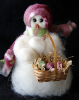 """Easter Hunt"" Wooly® Primitive Snowman"