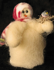"""Welcome Spring"" Wooly® Primitive Snowman"